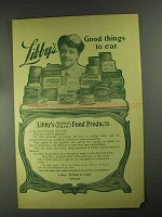 1903 Libby's Food Ad - Good Things To Eat