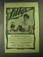 1903 Libby's Peerless Dried Beef Ad - Dainty Luncheons