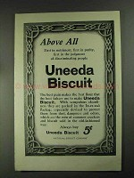 1903 Uneeda Biscuit Ad - Above All