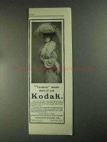 1903 Kodak Camera Ad - Vacation Means More