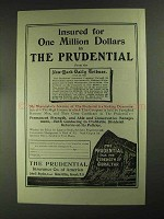 1903 Prudential Insurance ad - One Million Dollars