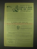 1903 Wood, Harmon Ad - NYC Real Estate, Russell Sage