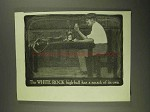 1903 White Rock Water Ad - High-Ball Has a Smack