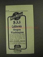 1903 The North-Western Union Pacific Line Ad