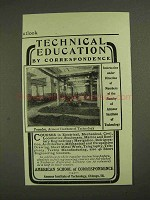 1903 American School of Correspondence Ad - Armour