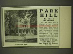 1903 American Real Estate Co. Park Hill Home Ad - NICE