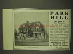 1903 American Real Estate Co. Park Hill Home Ad