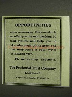 1903 Prudential Trust Company Ad - Opportunities