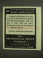 1903 Prudential Trust Company Ad - 4% Semi-Annually