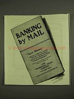 1903 Prudential Trust Company Ad - Banking by Mail