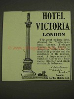 1903 Hotel VictoriaAd - London