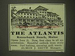 1903 The Atlantis Resort Ad - Kennebunk Beach, Maine