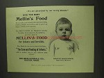 1893 Mellin's Baby Food Ad - Advertised By Our Loving Friends
