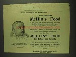 1893 Mellin's Baby Food Ad - By Our Loving Friends
