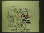 1893 N.K. Fairbank Gold Dust Washing Powder Ad
