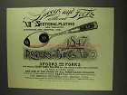 1893 1847 Rogers Bros. XII Section Plating Spoon Ad