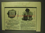 1893 Williams' Shaving  Stick and Yankee Soap Ad