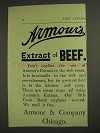 1893 Armour's Extract of Beef Advertisement