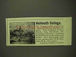 1893 Hellmuth College Ad - For Young Ladies