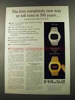 1973 Pulsar Watch Ad - Completely New Way to Tell Time
