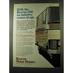 1973 Revcon 250 Motor Home Ad - Comes of Age