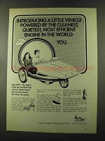 1973 EVI PPV Pedal Power Vehicle Ad - Efficient