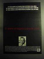 1973 Ryder System Ad - If You Need Distributuion System