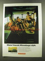 1973 Winnebago Motor Home Ad - Makin' Friends