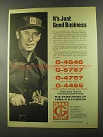 1973 Funk's G-Hybrid Seeds Ad - Just Good Business