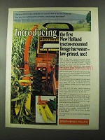 1973 Sperry New Holland Model 707 Forage Harvester Ad
