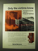 1973 Shaw-Walker Fire-Files Ad - Only the Victims Know