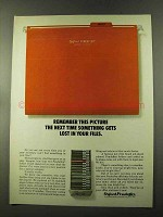 1973 Oxford Pendaflex Folders Ad - Remember This