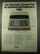 1973 Victor 1800 Scientific / Engineering Calculator Ad