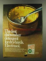 1973 Electrasol Dishwasher Detergent Ad - For Dry-Hards
