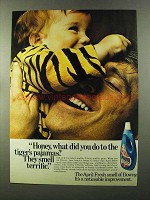 1973 Downy Fabric Softener Ad - The Tiger's Pajamas