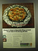 1973 Reynolds Wrap Ad - Double Batch Shrimp Florentine