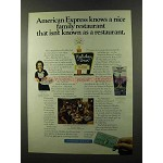 1973 Holiday Inn Ad - American Express Knows