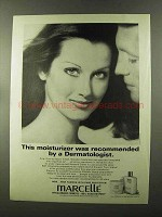 1973 Marcelle Moisture Lotion and Moisture Creme Ad