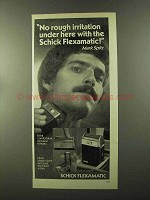 1973 Schick Flexamatic Shaver Ad - Mark Spitz
