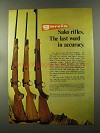 1973 Garcia Sako Model 72 Rifle Ad - Accuracy