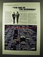 1973 UOP United Oil Products Ad - End of Beginning
