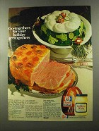 1973 Kraft Miracle Whip & Rath Ham Ad - Recipes