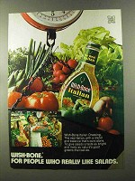 1973 Wish-Bone Italian Dressing Ad - Like Salads