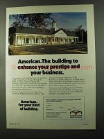 1973 American Buildings Ad - Enhance Your Prestige