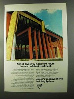 1973 Armco Building Systems Ad - Maximum Return