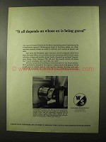 1973 Warner & Swasey Cam Grinders Ad - Ox Being Gored