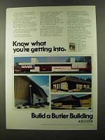 1973 Butler Buildings Ad - What You're Getting Into