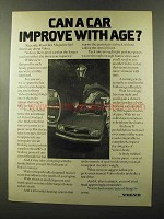 1973 Volvo Car Ad - Improve With Age
