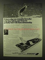 1973 Starcraft 16' Pro Boat Ad - Bill Dance