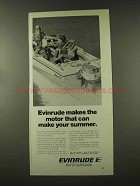 1973 Evinrude Outboard Motors Ad - Make Your Summer